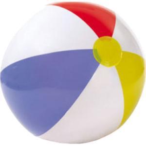 Надувная игрушка Shantou Gepai Glossy Panel Ball с цветными сегментами 51 см, см Intex