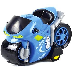 Радиоуправляемый мотоцикл  Tech ММотокросс, синий Mioshi. Цвет: синий