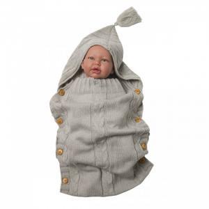 Демисезонный конверт вязаный 72х36 см Baby Nice (ОТК)