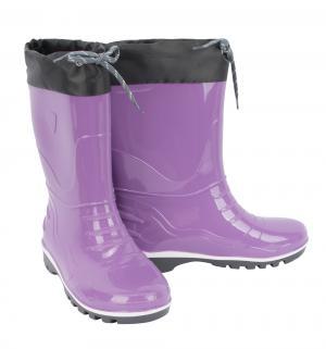 Резиновые сапоги , цвет: фиолетовый Псков-полимер