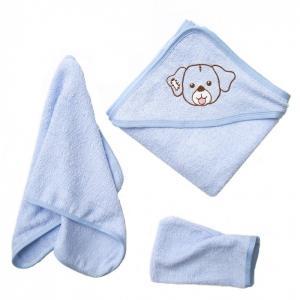 Комплект для купания махровый Собачка (3 предмета) Baby Nice (ОТК)