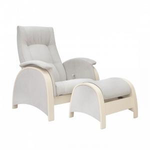 Кресло для мамы  Fly с пуфом Дуб шампань Milli