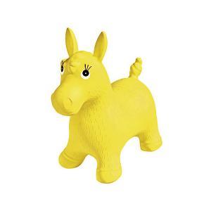 Игрушка-попрыгун  Пони, жёлтая Palmon. Цвет: желтый