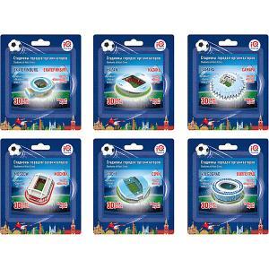 Набор 3D пазлов № 2 IQ-puzzle Малые стадионы, 6 шт. IQ Puzzle