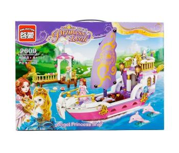 Конструктор  Корабль принцессы с фигурками (456 деталей) Enlighten Brick
