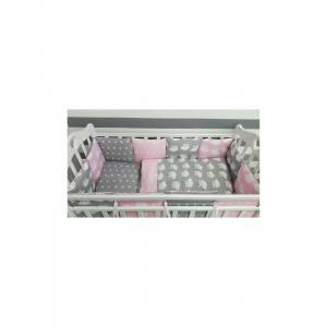 Детское постельное белье 3 предмета By Twinz, Совы, розовый byTwinz