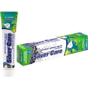 Зубная паста  Ягодный микс без фтора Silver Care