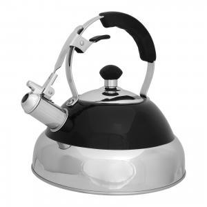 Чайник из нерж. стали MAL-046 , 2,5 л, чёрный Mallony