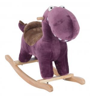 Качалка  Динозаврик, цвет: фиолетовый Leader Kids