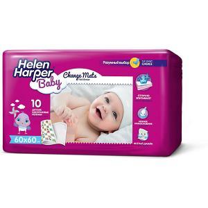 Детские пеленки  Baby 60х60 10 шт Helen Harper. Цвет: разноцветный