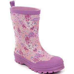 Резиновые сапоги MIMOSA Viking для девочки. Цвет: лиловый