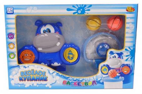 Водный баскетбол для ванной Веселое купание с аксессуарами (6 предметов) ABtoys