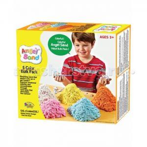 Набор песка для игры и творчества 5-Color Pack на русском языке Angel Sand