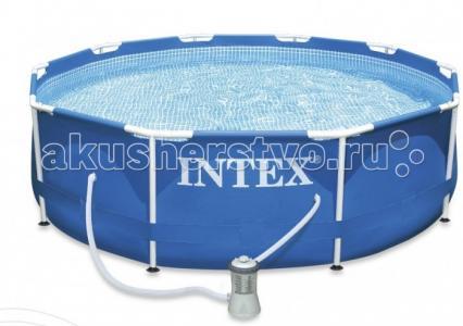 Бассейн  каркасный 305х76 см с фильтром Intex