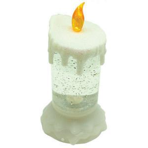 Светильник-свеча  Новогодняя метель с RGB-светодиодами GLOS. Цвет: разноцветный
