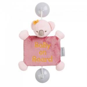 Знак Baby on board Iris & Lali Коала Nattou