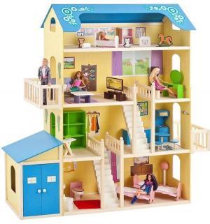 Дом для кукол  Лира 140 см Paremo