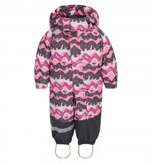 Комбинезон утепленный Aapa, цвет: розовый/серый Lappi Kids