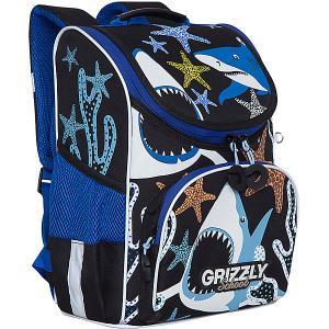 Рюкзак школьный  с мешком для обуви Grizzly