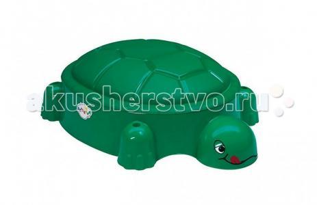 Песочница Черепаха с крышкой Т00234 Paradiso
