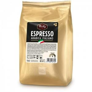 Кофе Espresso Arabica Italiano зерно 1 кг Paulig