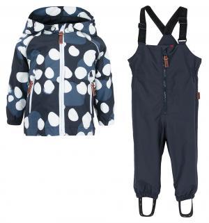 Комплект куртка/полукомбинезон  Kupliva toddler set, цвет: синий Reima