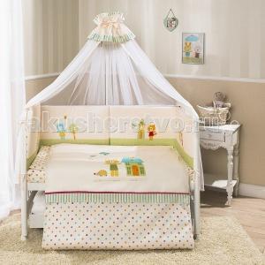 Комплект в кроватку  Глория (6 предметов) Perina