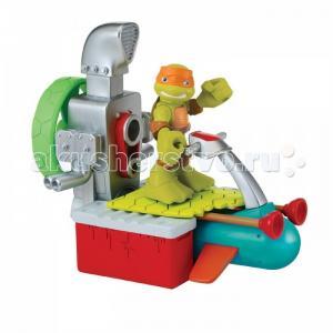 Игровой набор Майки с гидроциклом Half Shell Hero Turtles