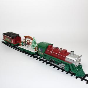 Новогодняя железная дорога Santa Express (41 часть) Eztec