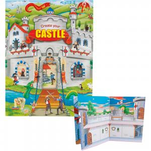 Альбом с наклейками Create your Castle, Creative Studio Depesche
