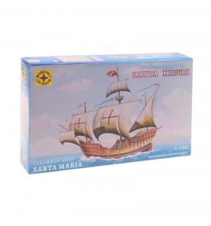 Сборная модель  корабль Колумба Санта-Мария Моделист