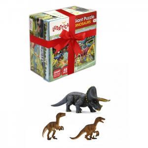 Большой игровой набор Динозаврики Ludattica