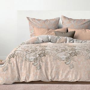 Комплект постельного белья  Эстела, 2-спальное Романтика. Цвет: разноцветный