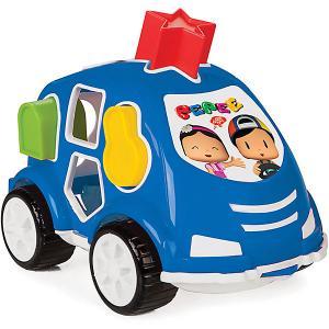 Машинка с геометрическими фигурами Пепи  Shape Sorter Car Pilsan. Цвет: разноцветный