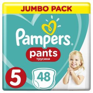 Трусики  Pants 5 размер (12-17 кг) 48 шт. Pampers