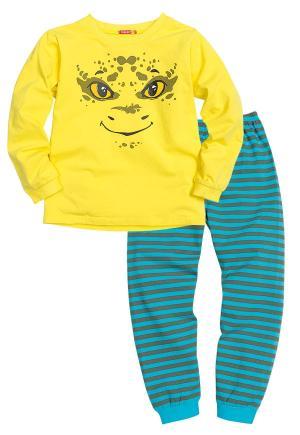 Пижама джемпер/брюки , цвет: желтый Pelican
