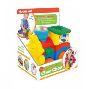 Развивающая игрушка  Паровозик со слоненком Kiddieland