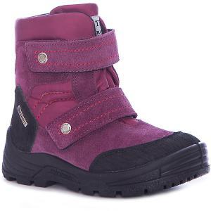 Ботинки для девочки Minimen. Цвет: розовый
