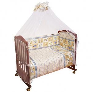 Комплект в кроватку  Считалочка (7 предметов) Сонный гномик