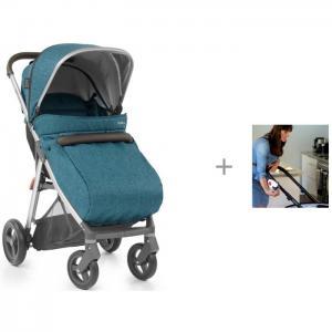 Прогулочная коляска  Zero с накидкой на ножки и Rockit Укачивающее устройство для коляски Oyster