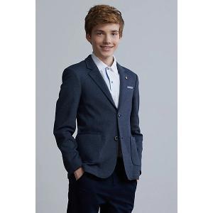 Пиджак  для мальчика Silver Spoon. Цвет: синий