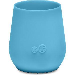 Силиконовая кружка  Tiny Cup синяя Ezpz