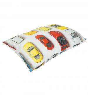 Подушка Машинки 40 х 60 см, цвет: белый Зайка Моя