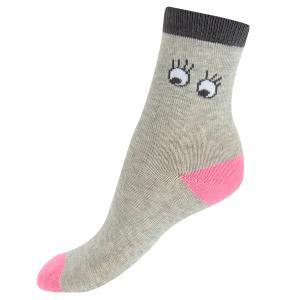 Носки  Меланж, цвет: серый Crockid