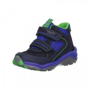 Ботинки  для мальчика Superfit. Цвет: синий