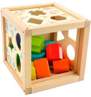 Логический кубик Мир Деревянных Игрушек