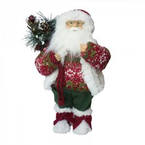 Дед Мороз в свитере и шапке 32 см Maxitoys