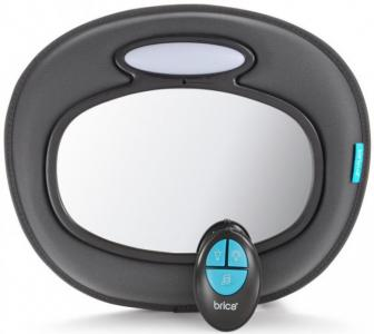 Brica Зеркало контроля за ребёнком музыкальное Night Light Baby In-Sight Mirror Munchkin