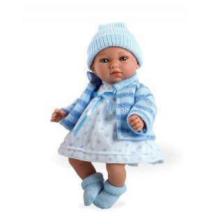 Кукла  Elegance в голубой одежде 28 см Arias