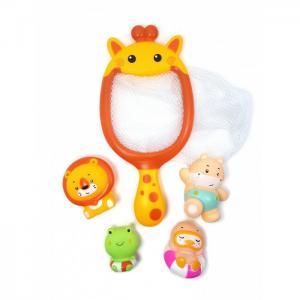 Набор игрушек для ванной Сачок-Жираф ЯиГрушка